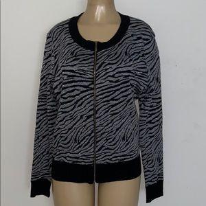 Plus Size Light Sweater Jacket Plus Size 2XL